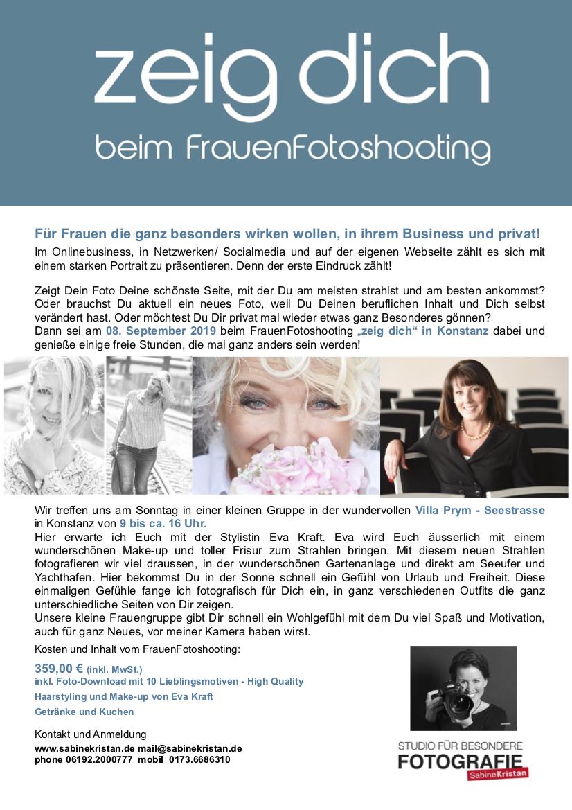 nächster Termin am 08. September 2019 in Konstanz am Bodensee