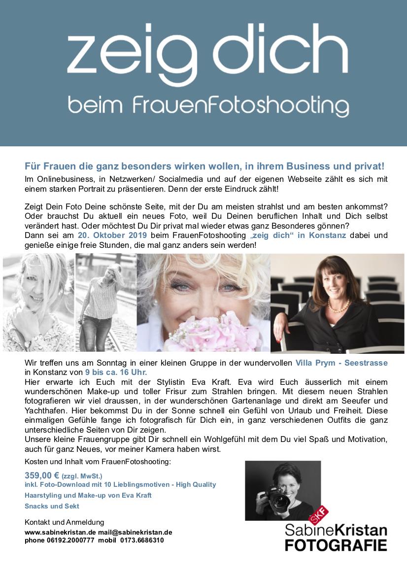 Fotoshooting für Businessfrauen in Konstanz in der Villa Prym