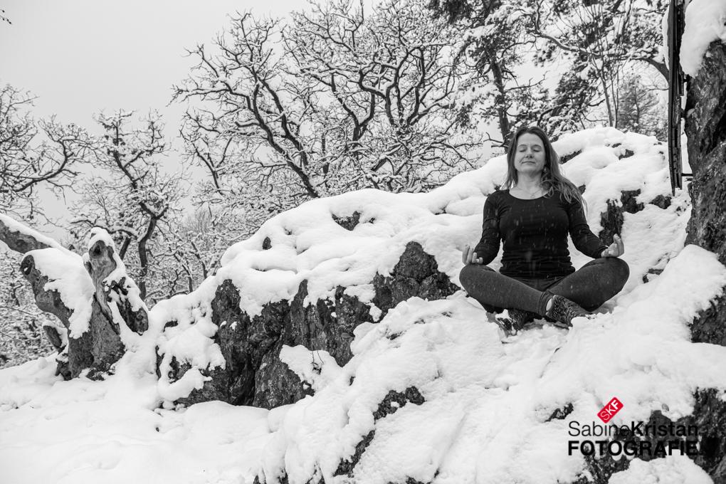 Yoga-Fotos Im Freien